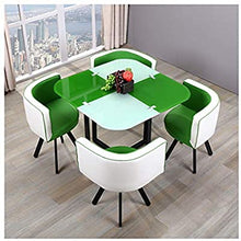 Load image into Gallery viewer, 2 coloured dining table set