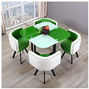 2 coloured dining table set