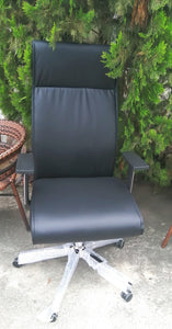 Slim high back executive chair