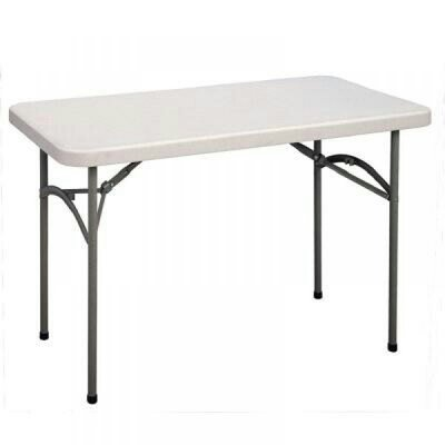 4FT RECTANGULAR RESTAURANT PLASTIC TABLE