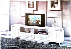royal white tv cabinet