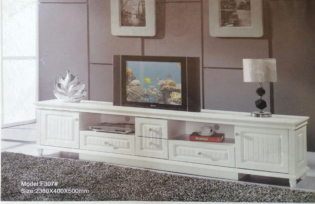 white television cabinet