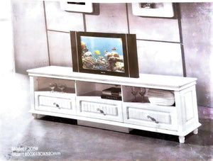 white royal tv cabinet console