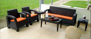 ranoush 5 seater outdoor chair