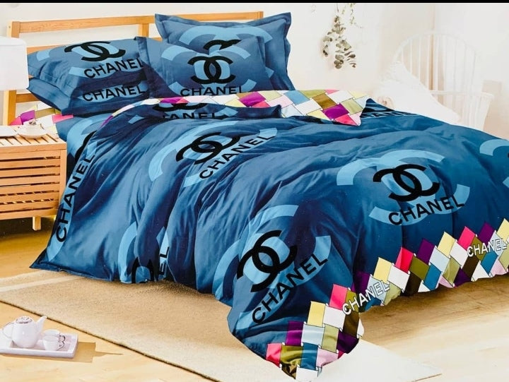 Beautiful blue Bedsheet and Duvet