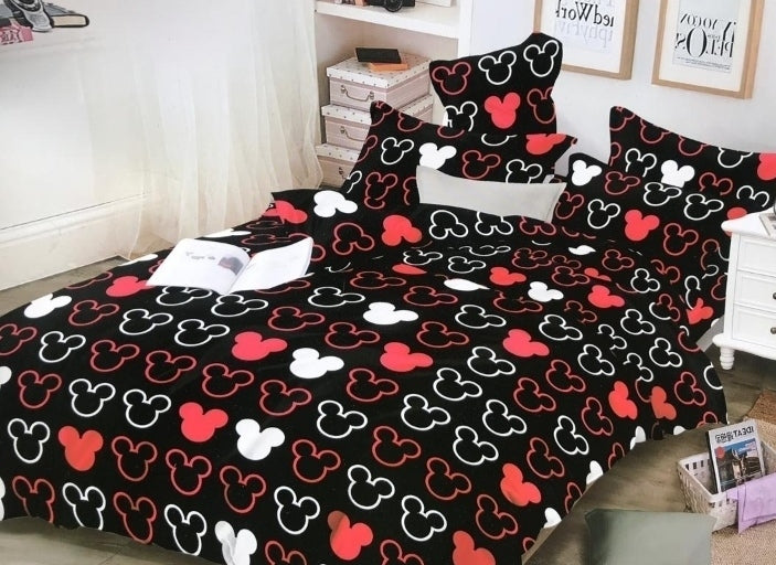beautiful heart bed sheet set