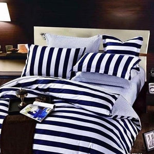 Beautiful stripe American Bedsheet and Duvet