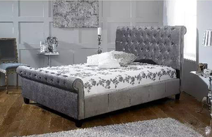 Lili Grey Bed Frame