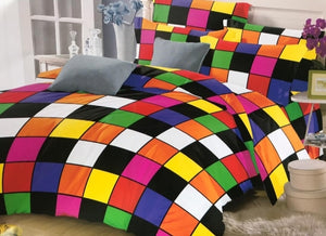 Beautiful colourful Bedsheet and Duvet