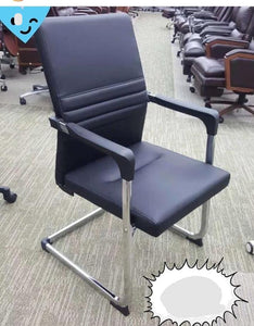 Executive leather conference chair
