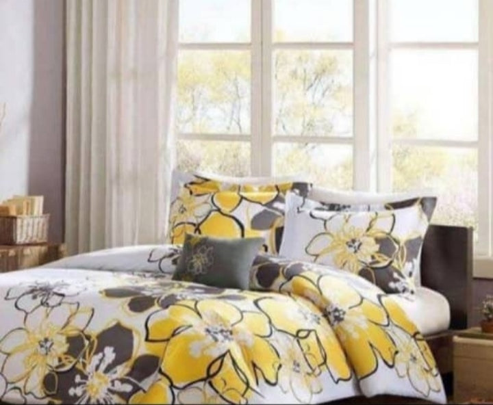 floral beautiful bedsheet set