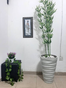 MID Decorative Synthetic Flower Plant pot