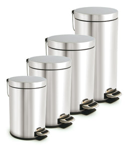 5 Litres stainless steel pedal Waste Bin