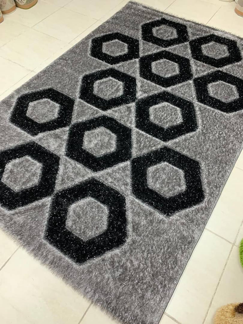 grey shaggy area rug eunicon