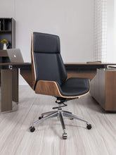 Load image into Gallery viewer, modern leather executive office chair