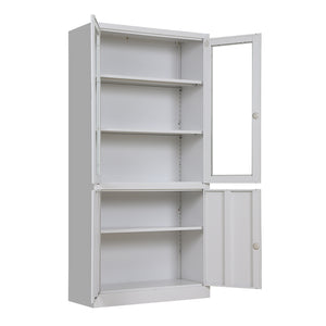 Steel Glass File Cabinet