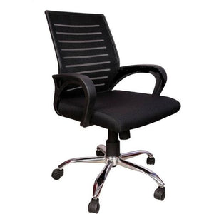 Swivel mid back office chair