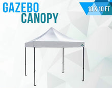 Load image into Gallery viewer, Gazebo collapsible Canopy 10x10