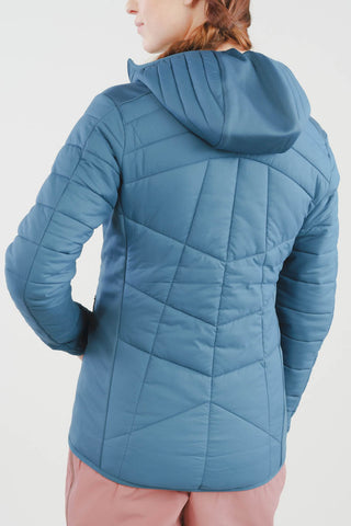 Valkyrie Asgard Down Jacket in Cobalt Blue