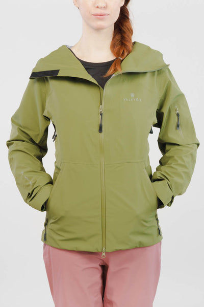 Valkyrie Freya Shell Jacket in Forest Green