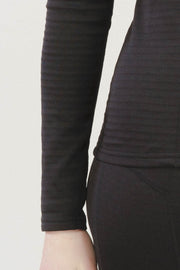 Valkyrie Skadi Base Layer Top in Charcoal Black