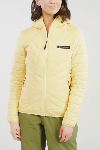 Valkyrie Asgard Down Jacket in Gold Yellow