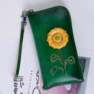Simple Zipper Wallet with Personality Change Bag