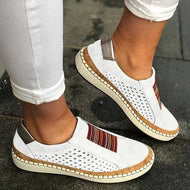 Women Casual Summer Slip On Hollow-Out Sneakers