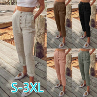 Fashionable Single Vreasted Casual Pants