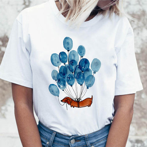 Balloon Dog Short Sleeve T-shirt