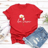 Sunflower Series Printed T-shirt Women