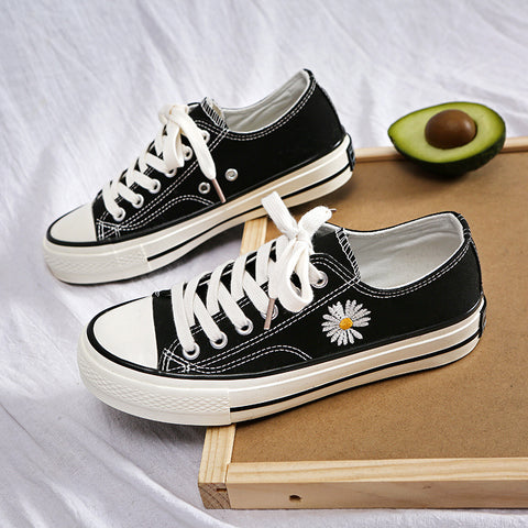 Little Daisy Canvas Shoes