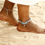 Starfish Mizuno Beach Turtle Pendant Foot