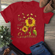 You My Are Printed Short Sleeve T-shirt