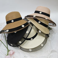 Little Daisy Holiday Leisure Straw Hat