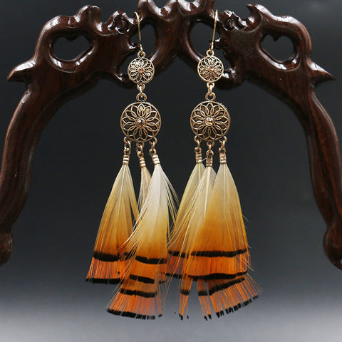 Creative Feather Earrings