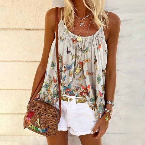 Fashion Butterfly Print Sling