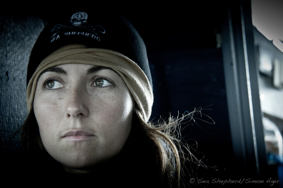 Oona Layolle - Sea Shepherd Captain