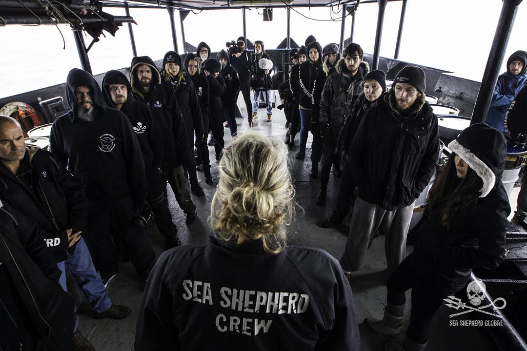 Sea Shepherd Crew Instructions