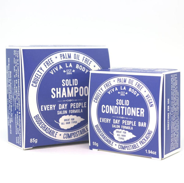 Everyday Shampoo and Conditioner Bars
