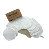 10 Pack Reusable Three Layers Bamboo Pads - Jiembo