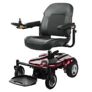 Merits Health - P321 EZ-GO Portable Super Light Power Chair BLUE RED TURQUOISE PINK WHITE 👩‍🦼 - All Wheels Mobility