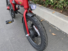 Load image into Gallery viewer, Qualisports - Nemo 250W 36V E-Bike BLACK RED WHITE 🚴‍♂️ - All Wheels Mobility