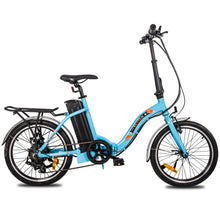 "Load image into Gallery viewer, ECOTRIC - Starfish 20"" 350W 36V Portable & Folding Electric Bike WHITE, MATTE BLACK, BLUE 🔥🚴‍ HOT SUMMER SELLER!! PLUS FREE GIFT!! 🎁 - All Wheels Mobility"