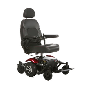Merits Health - P326 Vision Sport Power Chair RED BLUE 👩‍🦼 - All Wheels Mobility