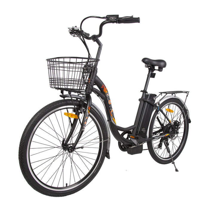 ECOTRIC - Peacedove 350W 36V Electric City Bike WHITE, MATTE BLACK 🔥🚴‍ HOT SUMMER SELLER!! PLUS FREE GIFT!! 🎁 - All Wheels Mobility