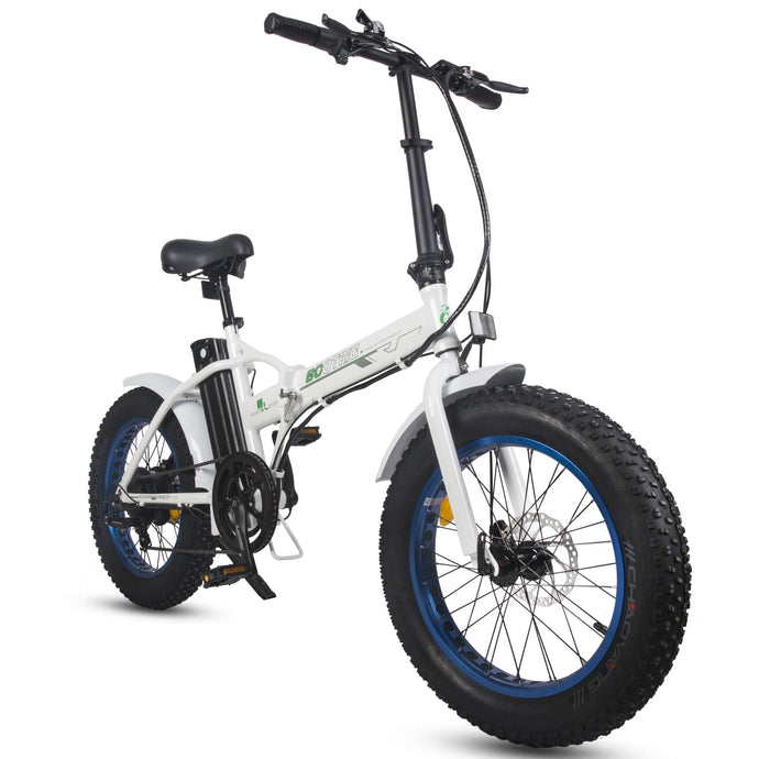 ECOTRIC - FAT20810 500W 36V Fat Tire Folding Electric Bike MATTE BLACK, WHITE BLACK, WHITE BLUE 🔥🚴‍ HOT SUMMER SELLER!! PLUS FREE GIFT!! 🎁 - All Wheels Mobility