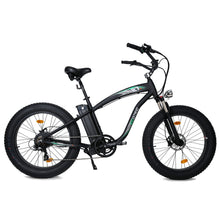Load image into Gallery viewer, ECOTRIC - Hammer 1000W 48V Electric Fat Tire Beach Snow Bike MATTE BLACK, BLUE, ORANGE 🔥🚴‍ HOT SUMMER SELLER!! PLUS FREE GIFT!! 🎁 - All Wheels Mobility