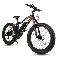 Load image into Gallery viewer, ECOTRIC - Rocket Fat Tire Beach Snow 500V 36V Electric Bike MATTE BLACK, BLUE 🔥🚴‍ HOT SUMMER SELLER!! PLUS FREE GIFT!! 🎁 - All Wheels Mobility