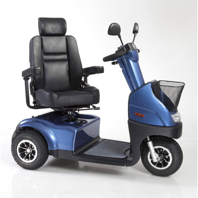 AFIKIM - Afiscooter C 3 Scooter Single Seat GREY BLUE SILVER RED 🛵 - All Wheels Mobility